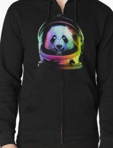 Astronaut Panda Zipped Hoodie