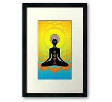 chakras Framed Print