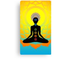 chakras Canvas Print
