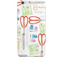Notions - Scissors and Tools iPhone Case/Skin