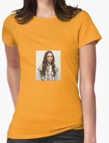 ALYCIA DEBNAM CAREY Womens Fitted T-Shirt