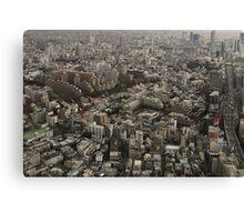 Tokyo Urban Lanscape Canvas Print