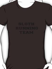 'sloth running team' T-Shirt