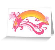 soccer : summersetz Greeting Card