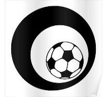 futbol : retro circles Poster