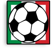 futbol italia square Canvas Print