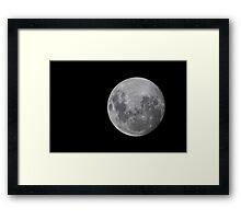 super moon 23 June 2013 Framed Print