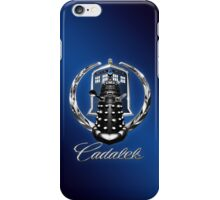 Cadalek in Tardis Blue iPhone Case/Skin
