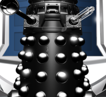 Cadalek in Tardis Blue Sticker