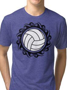 tribal volleyball Tri-blend T-Shirt