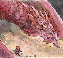 The Temptation of Smaug by livielightyear