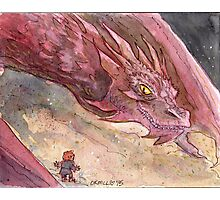 The Temptation of Smaug Photographic Print