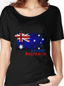 Sydney, Australia Women's Relaxed Fit T-Shirt