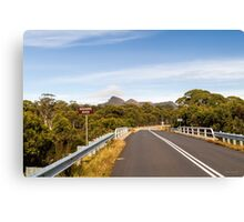 Lyell Highway, Nr. Derwent Bridge, Tasmania Canvas Print