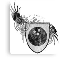 bowling : hi-fi crest Canvas Print