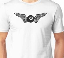 winged eight ball Unisex T-Shirt