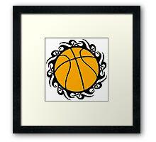 basketball : tribalz Framed Print