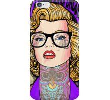 Hipster Monroe iPhone Case/Skin