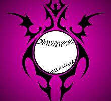 happy birthday softball by maydaze