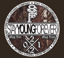 NE Flag Snake Skin by STAY YOUNG FOREVER By Alex Harris