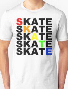 skate textstacks T-Shirt