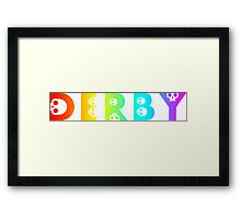 derby Framed Print