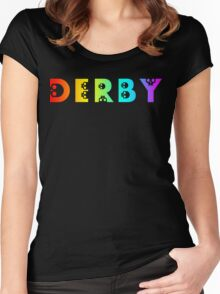 derby Women's Fitted Scoop T-Shirt