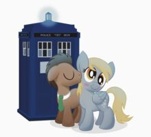 Derpy and the Doctor (My Little Pony: Friendship is Magic) Kids Tee