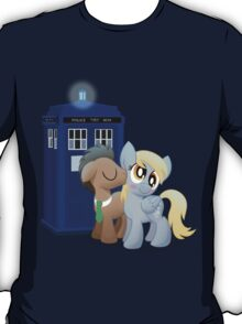 Derpy and the Doctor (My Little Pony: Friendship is Magic) T-Shirt