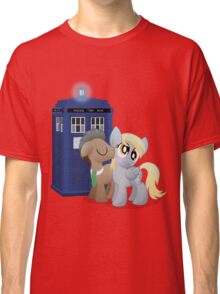 Derpy and the Doctor (My Little Pony: Friendship is Magic) Classic T-Shirt
