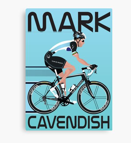 Mark Cavendish Canvas Print