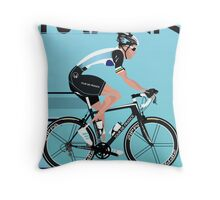 Mark Cavendish Throw Pillow