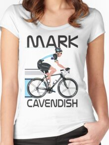 Mark Cavendish Women's Fitted Scoop T-Shirt