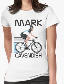 Mark Cavendish Womens Fitted T-Shirt