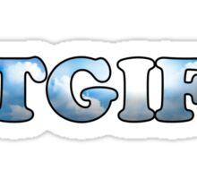 TGIF  Sticker