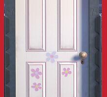 Boo's Door by Em Herrera