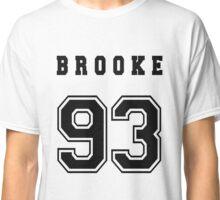 BROOKE - 93 // Black Text Classic T-Shirt