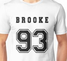 BROOKE - 93 // Black Text Unisex T-Shirt
