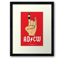 For those about to Create, we salute you. Framed Print