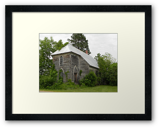 Nostalgic Wooden Church by Martha Medford