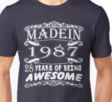 MADE IN 1987 Unisex T-Shirt