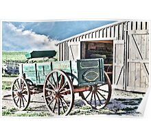 Midwest Buggy and Barn Poster