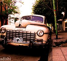 Old Classic Dodge, on the Streets of Buenos Aires by ibadishi