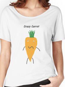 Crazy Carrot Women's Relaxed Fit T-Shirt