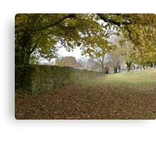 Autumn in Ross Canvas Print