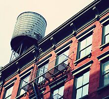New Yorker House Wall by Malte Herbst Photography