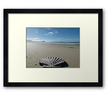 Beach Perspective Framed Print