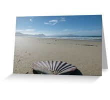 Beach Perspective Greeting Card