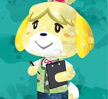 Isabelle - New Leaf by quigalchemist