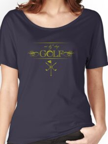 Eat, Sleep & Golf VRS2 Women's Relaxed Fit T-Shirt